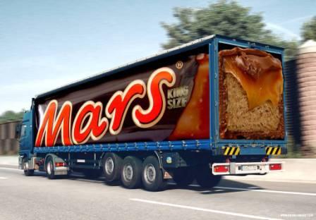 наружная реклама к примеру на транспорте