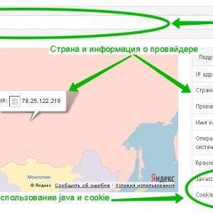 определить ip адрес