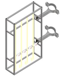 панель кронштейн структура