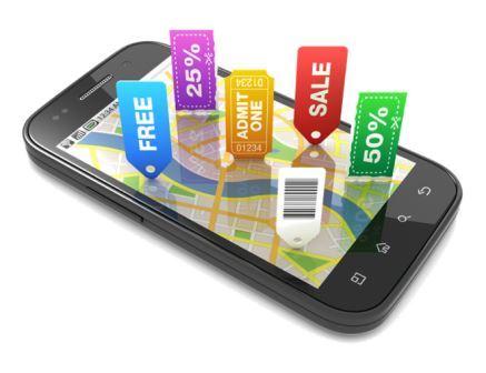 мобильная реклама - пример