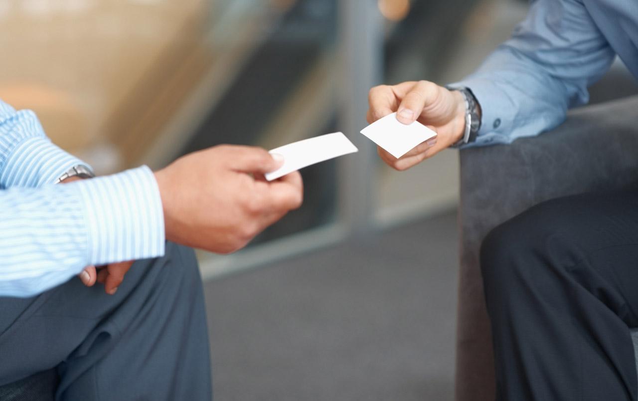 Визитки для делового человека