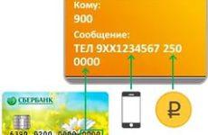 Как положить деньги на баланс мобильного картой сбербанка