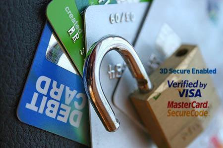 защита банковской карты 3D Secure