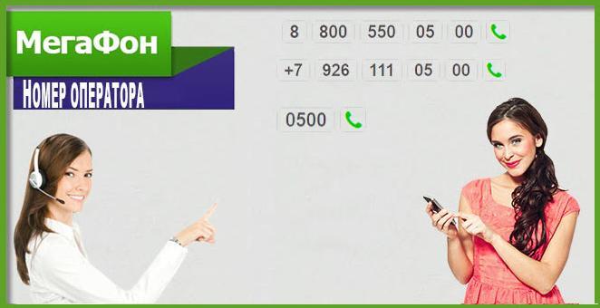 номер службы поддержки мегафон