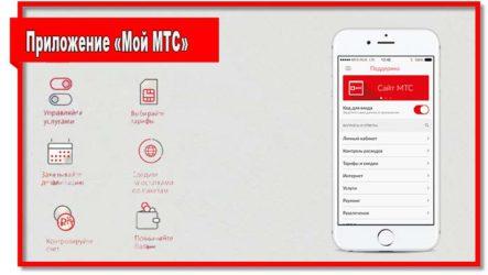 Приложение «Мой МТС»: полная характеристика