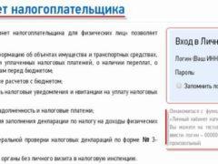 Личный кабинет налогоплательщика ФНС онлайн