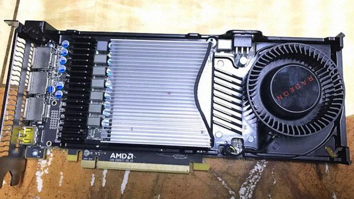 Видеокарта AMD RX 570