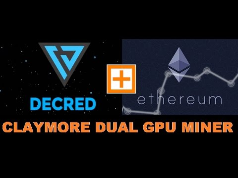 Claymore's Dual Ethereum Miner