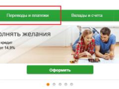 Реквизиты детского сада для Сбербанк Онлайн