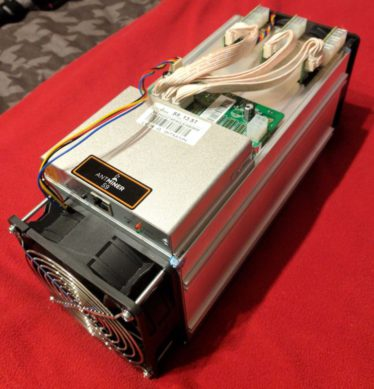 Antminer S9 with 13.5 Th/s