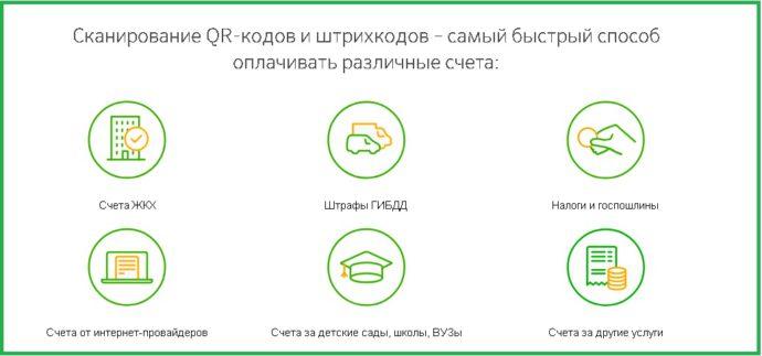 список услуг и квитанций участвующих в акции