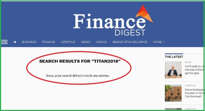financial digests