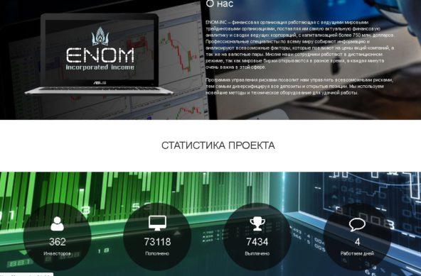 о компании enom-inc