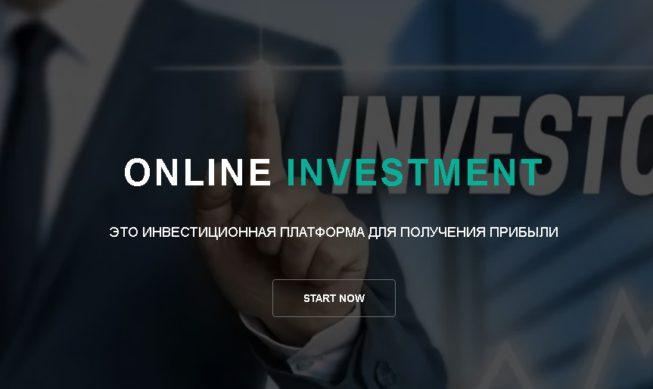 Online investment su