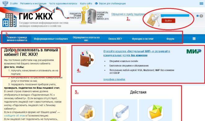 Сайт ГИС ЖКХ: справочник для жителей и Управляющих компаний