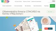 Акция Сбербанка «Обмен бонусов на баллы ЖД»