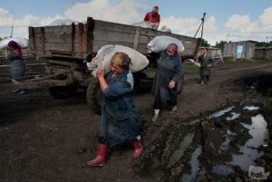 труд на селе
