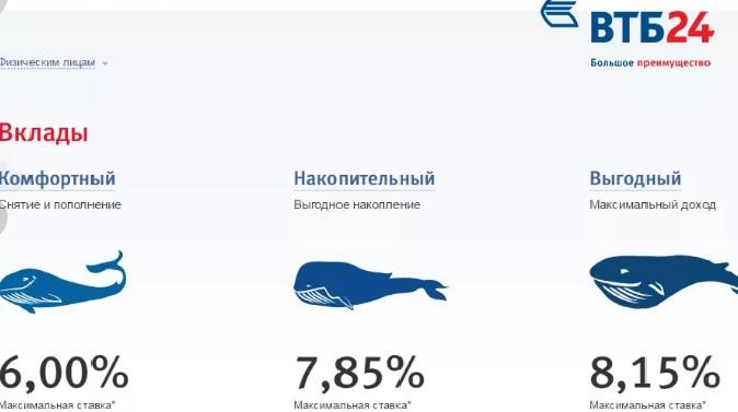 Банк ВТБ: вклад «Комфортный» условия на 2019 год