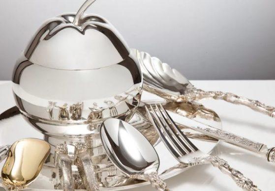 столовое серебро лучший подарок на серебряную свадьбу родителям