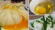 Яйцо пашот в мешочке