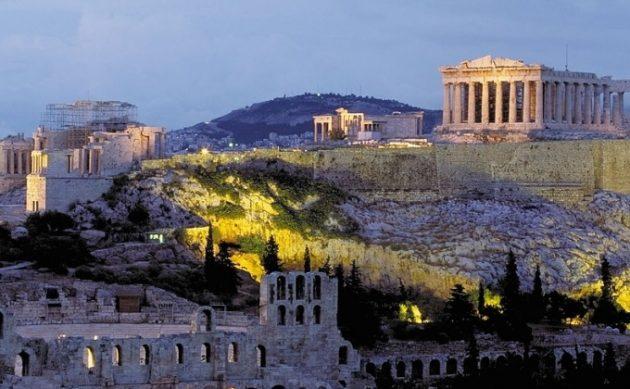 греция афины акрополь 2019