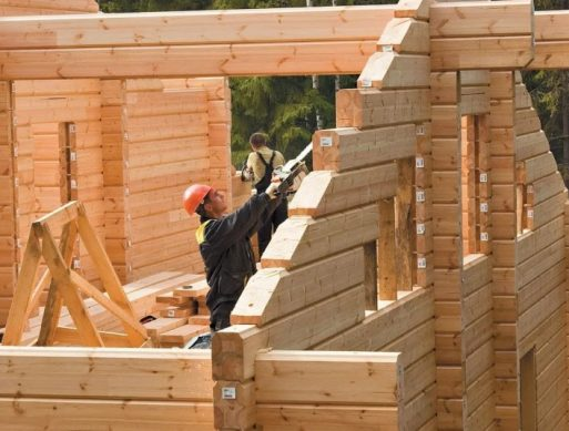 цена постройки дома из бруса
