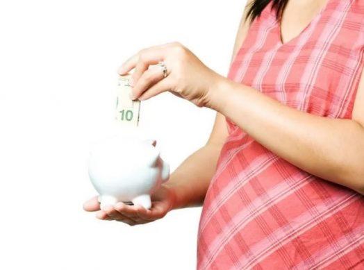 выплата декретных пособие по рождению ребенка