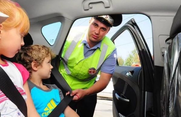 штраф за неправильную перевозку детей в автокреслах