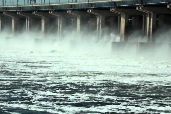 когда сброс воды на волжской гэс