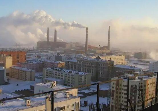 норильск самые грязные города