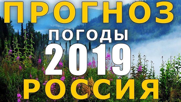 прогноз погоды в москве 2019
