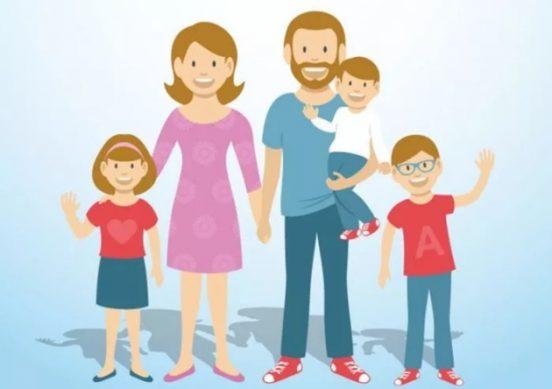 кто относится по классификации к многодетным семьям