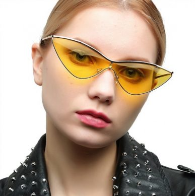 треугольные солнцезащитные очки 2019