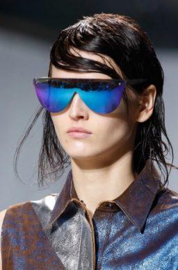 футуристичесске женские солнцезащитные очки