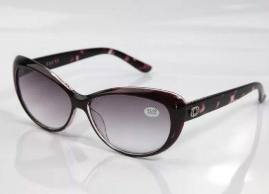 очки с диоптриями солнцезащитные женские