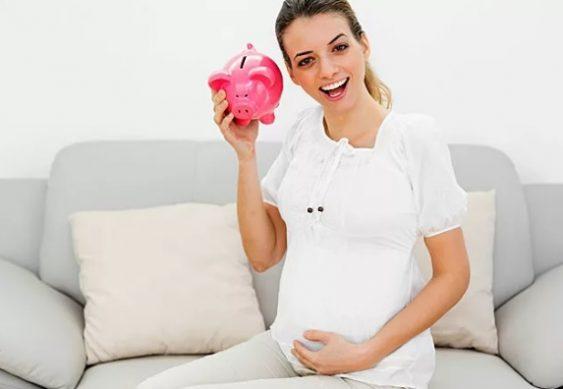 минимальное пособие по беременности в 20919 году