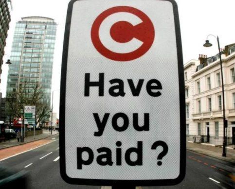 плата за въезд в город