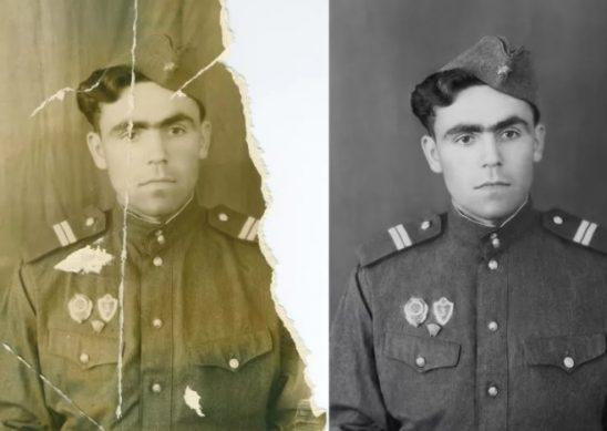 реставрация старых фотографий онлайн