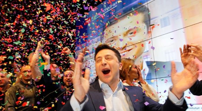 победа Зеленского на президентских выборах украины
