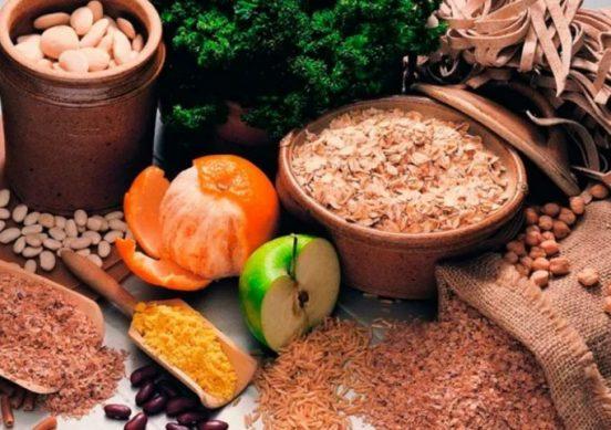 постные крупы и овощи