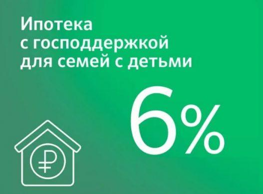 снижение ипотеки по участию в госпрограмме от сбербанка