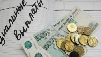 Социальные выплаты какие есть сейчас в России в 2019