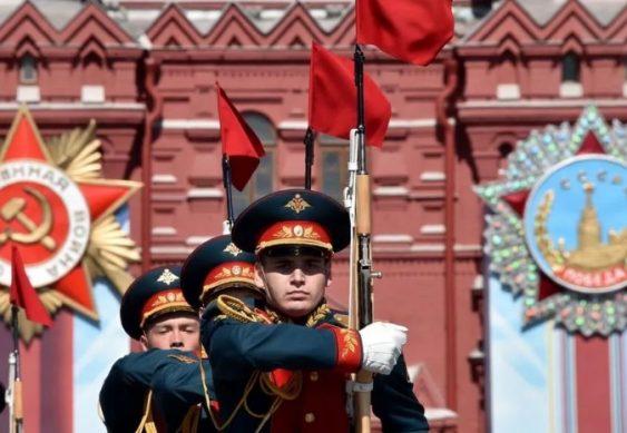 парад 9 мая на красной площади