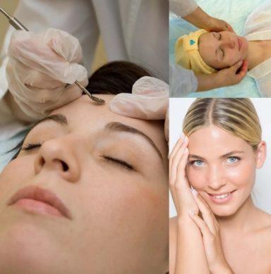 глубокая механическая очистка кожи лица