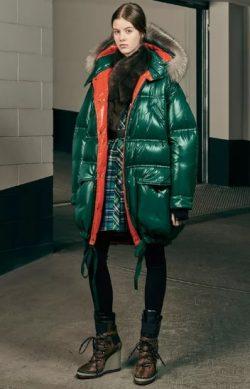 пуховики 2019 года мода