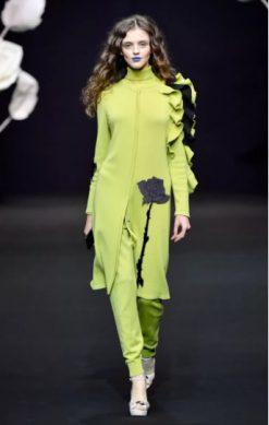 вещи в оттенке лайма мода 2019
