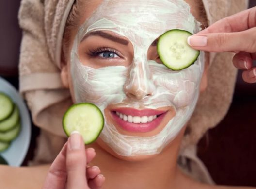 маска для лица из овощей