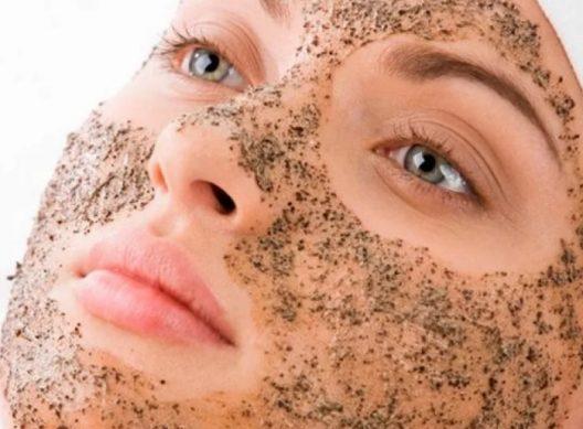 маска скраб для лица
