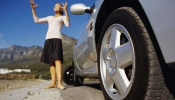 Как избежать прокола колеса на трассе