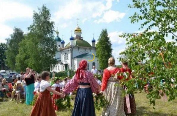 радиции празднования Троицы на руси